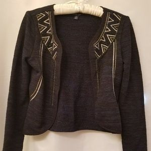 American Eagle S/P open cardigan sweater